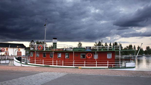 Näkymä Kuopion satamasta